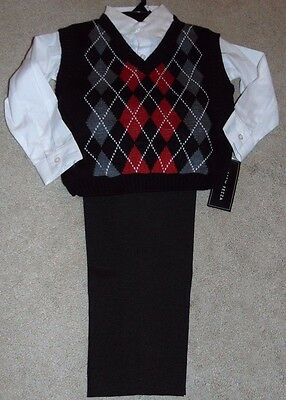 ~NWT Boys ANDREW FEZZA 3-Piece Outfit Set! Size 4 Cute FS:)~