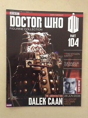 Doctor Who - Figurine Collection - issue 104 - Dalek Caan (MAGAZINE ONLY)