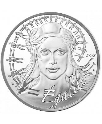 FRANCE 20 Euro Argent Marianne 2018