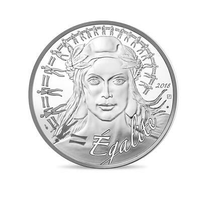 FRANCE 100 Euro Argent Marianne 2018