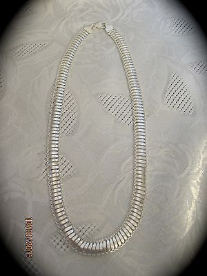 """925 Sterling Silver 17"""" Fancy Chain Necklace   #N177"""