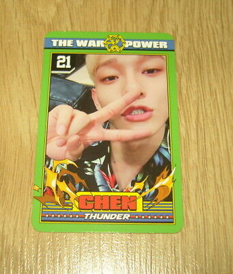 EXO K M 4th Repackage Album The Power of Music Chen A Photo Card Official