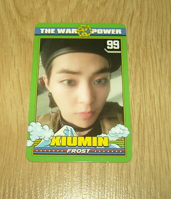 EXO K M 4th Repackage Album The Power of Music Xiumin B Photo Card Official
