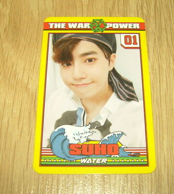 EXO K M 4th Repackage Album The Power of Music Suho A Photo Card Official