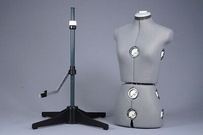 Adjustable Female Mannequin Body Dress Form Stand Sew ~ Look!!