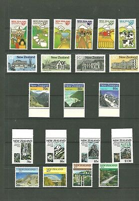 New Zealand Early Collection Of Various Sets Mint Nh/vf (1)