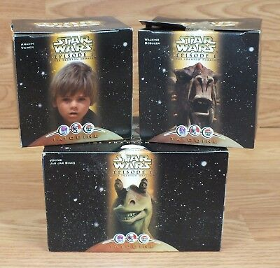 Star Wars Episode I The Phantom Menace Collectible Fast Food Toy Of Choice *READ