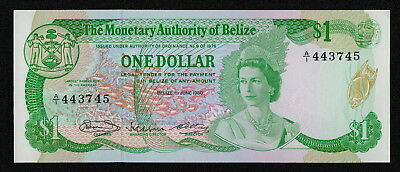 BELIZE (P38a) 1 Dollar 1980 UNC