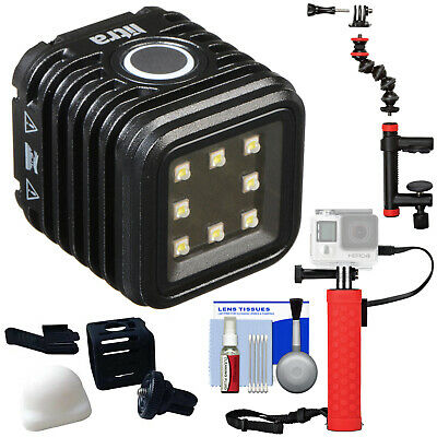 Litra LitraTorch Waterproof LED Video Camera Camcorder Light with Hand Grip Kit