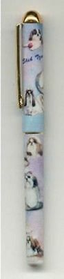 Quality Writing Pen SHIH TZU Rollerball Black Ink Pen
