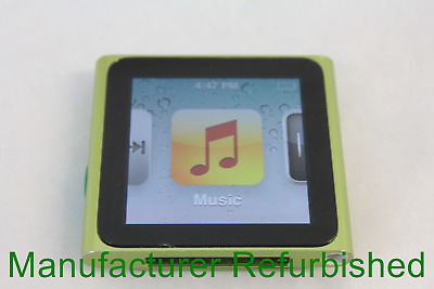 Apple iPod Nano (A1366) - 6th Gen 8GB Green