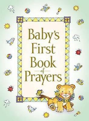 NEW Baby's First Book of Prayers By Melody Carlson Hardcover Free Shipping