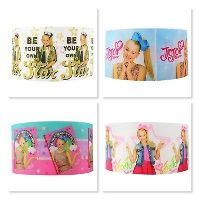 Grosgrain Ribbon - 3 Inch - 75 mm - Print by the Metre - Jojo Siwa Print