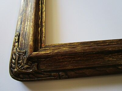Gorgeous Antique Frame For Painting Print Photograph Art Deco Gold Carved Old