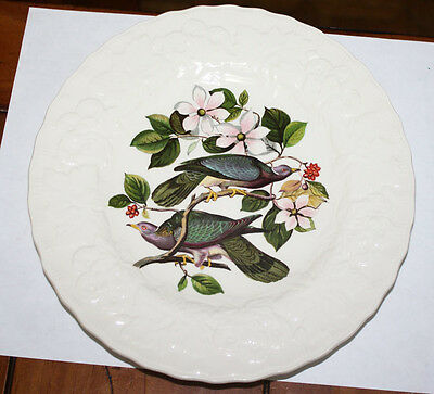 Vintage Alfred Meakin Bird Plate Band-Tailed Pigeon Luncheon Plate