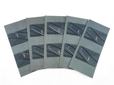 *Lot of 10* Cardsharp Credit Card Folding Razor Sharp Wallet Knife Survival Thin