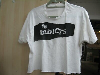 Vintage late 80's Radicts T-shirt OG *Not a reprint* NYC LES Punk Oi