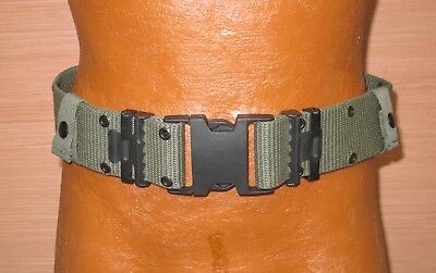 US Military Issue LC2 Individual Equipment Web Pistol Belt Nylon Green Alice M