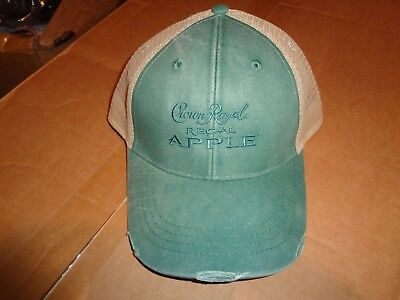 Crown Royal Regal Apple Whiskey Hat / Baseball Cap New!