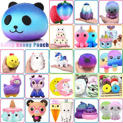 Jumbo Slow Rising Squishies Scented Charm Kawaii Squishy Squeeze Toy Collect Lot