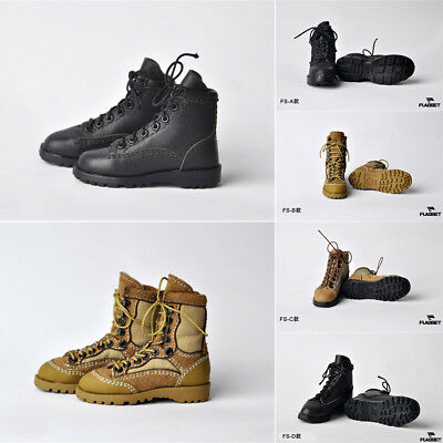 1/6 Scale Male Combat Shoes Military Boots Model Toy For 12'' Action Figure Body