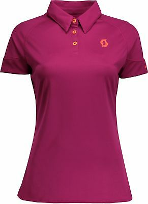 Scott Trail MTN 30 Short Sleeve Womens Cycling Polo - Pink