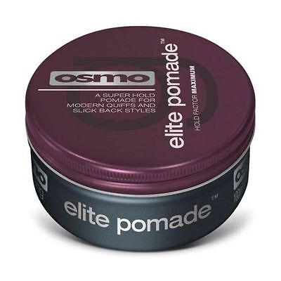 Osmo ELITE Pomade - Flexible Easy Manipulation, NOT STICKY, Satin Strong - 100ml
