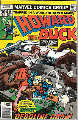 Howard the Duck (1976 1st Series) # 16 FINE VINTAGE MARVEL 41 YEARS OLD!!!!!