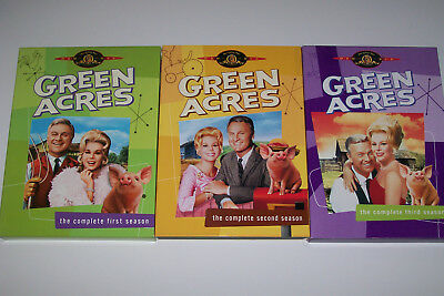 Green Acres: (LOT) The Complete First, Second & Third Seasons ( 8-Disc Set, MGM)