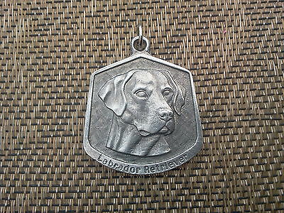 FAMILY PET 1 PUREBRED LABRADOR RETRIEVER PEWTER PENDANT or POCKET COIN NEW.
