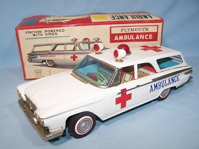 "Ichiko - Ford Plymouth ""Ambulance"" - im OK (48526)"