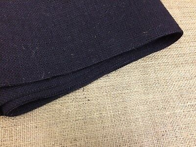 Black Rot-Proof Hessian Roll for upholstery/crafts etc 10oz 51in/130cm