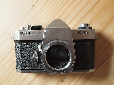 collectable very RARE chrome YASHICA TL SUPER body, Porst Uniflex 1000s branded