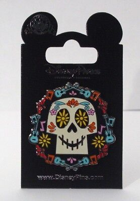 Disney Pins EPCOT COCO SKULL Day of the Dead  Single NEW on Card