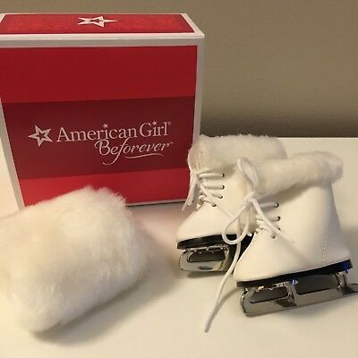 American Girl Molly's Ice Skates & Muff from Molly Ice Skating Outfit Maryellen