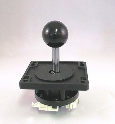 Happ Competition 8 Way  Ball Top Joystick  - Black