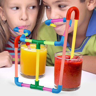 NEW Fun Straws Build A Sipping System With An Endless Array Of Twists And Turns