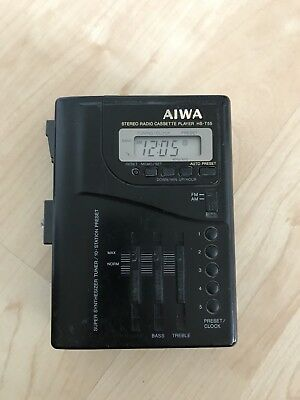 AIWA HS-T55 + Welltech SPORTS Walkman !!!