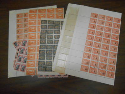 BULGARIA 3 SCANS PANES AND SHEETS COLLECTION LOT OG NH $$$$$$$ 99c NO RESERVE