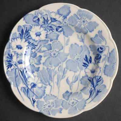 Wood & Sons GAY DAY BLUE (SCALLOPED) Bread & Butter Plate S774080G2