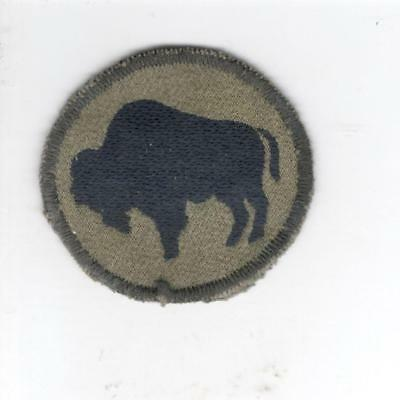 A723 Italian Made 92nd Infantry Division Patch Win 10 Get Free US Shipping
