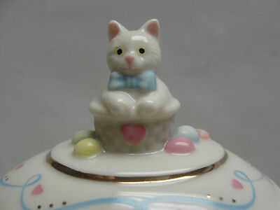 LENOX China - Annual EASTER EGG BOX Collection - (2007) SPRINGTIME KITTY