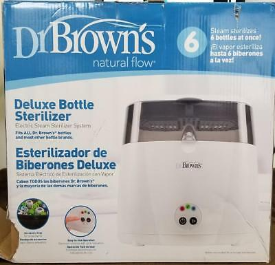 Brand New Dr. Brown's Natural Flow Deluxe Baby Bottle Sterilizer Cleaner