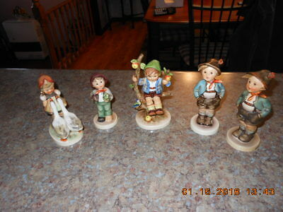 Lof of Five (5) Hummel Figurines All Mint Condition!