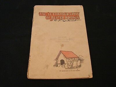The autobiography of Buster Brown 32 pages 1920's Buster & Tige