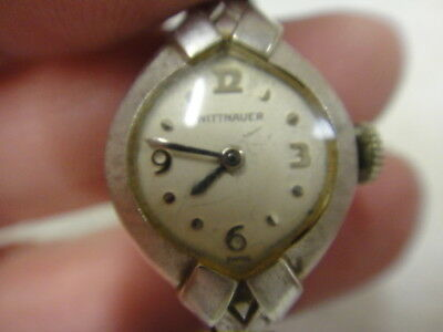 vintage Wittnauer 10K rolled gold plate watch untested or unworking as is