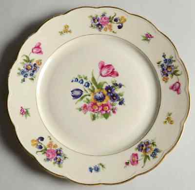Royal Bayreuth GARDEN FLOWERS Luncheon Plate S620834G2