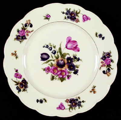 Royal Bayreuth GARDEN FLOWERS Dinner Plate S620822G3