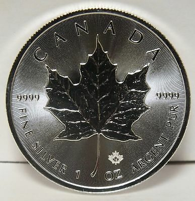 2018 Canada $5 Maple Leaf .9999 Fine Silver Coin - 1 oz Canadian bullion - JY044
