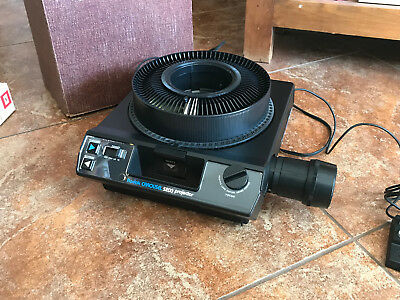 KODAK Carousel 5200 35mm Slide Projector Ready to Use/NO RESERVE